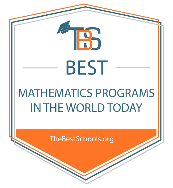 The 50 Best Mathematics Programs in the World Today