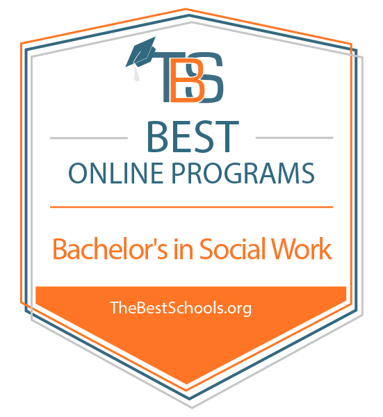 Most Colleges Weigh Student Discipline >> The 25 Best Online Bachelor S In Social Work Degree Programs