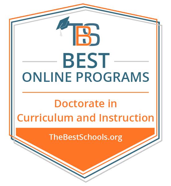 Best Online Doctorate in Curriculum & Instruction