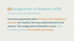 The Medical Billing Process Medical Billing Vocabulary  Key Terms