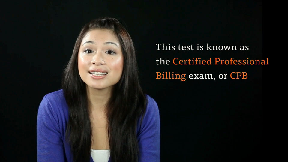 the cpb exam for billing and coding certification