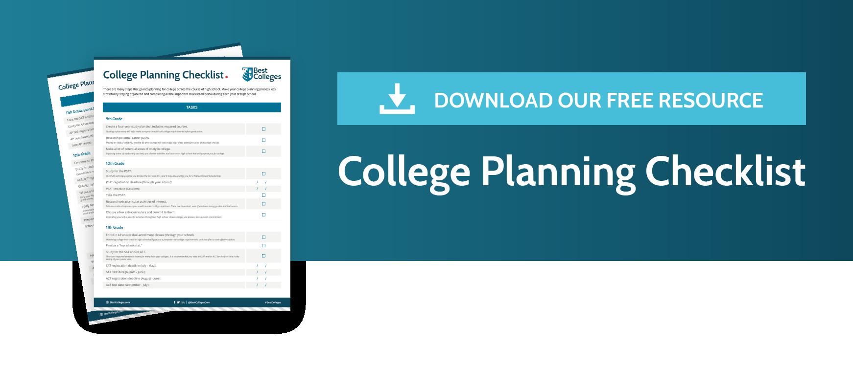 College Planning Timeline Bestcolleges