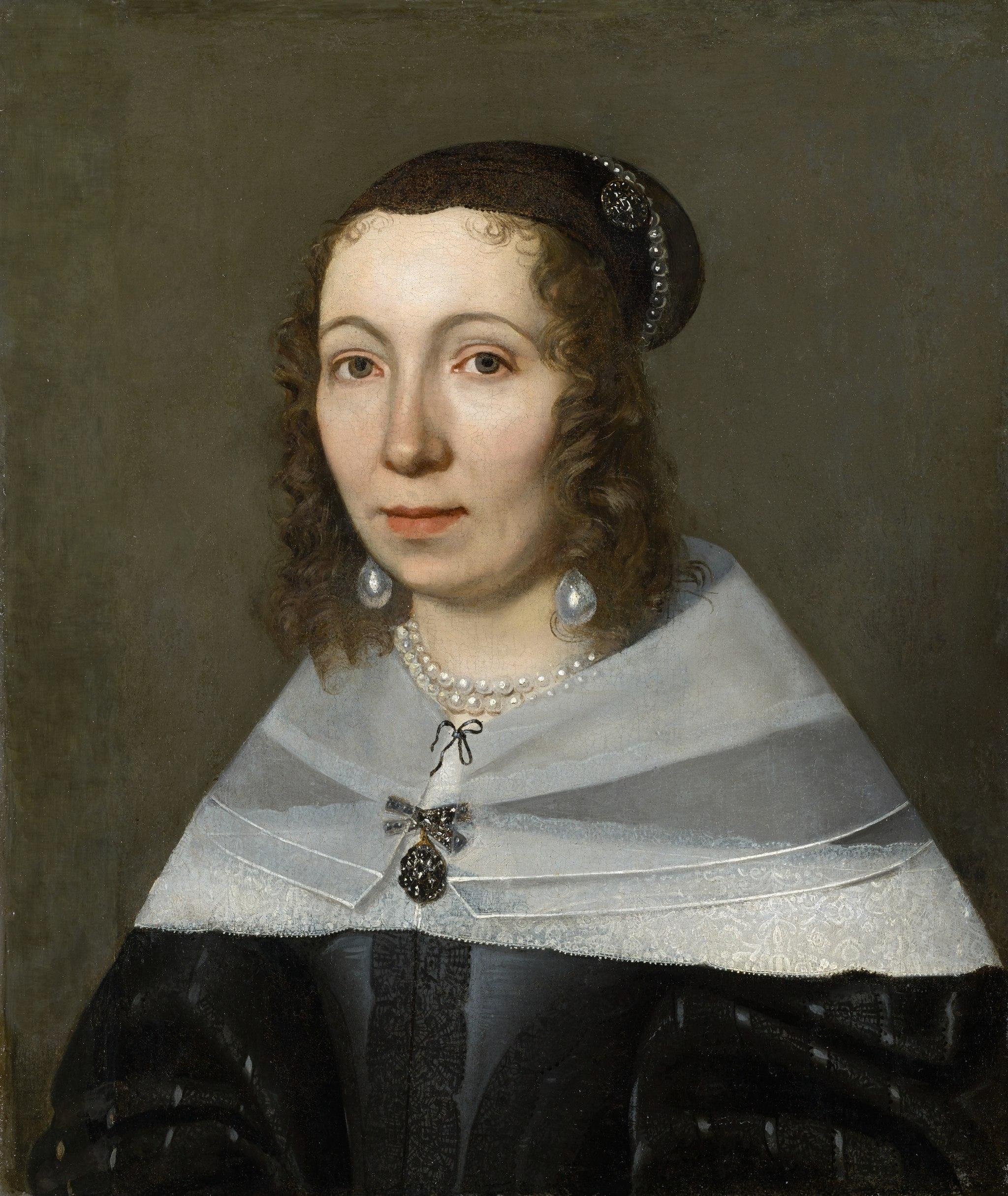A 17th-century portrait of Maria Sibylla Merian.