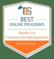 Download the Best Online Construction Management Associate Programs Badge
