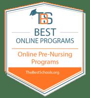 Download the Best Online Pre-Nursing Programs Badge