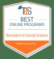 Top Online Bachelor's in Social Science Degree Programs Badge