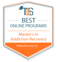 Best Online Master's in Addiction and Recovery Programs Badge