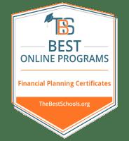 Top Online Financial Planning Certificate Programs Badge