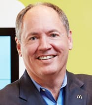 Rob Lauber, Senior VP and Chief Learning Officer for McDonald