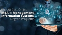 The 20 Best Online MBA in Management Information Systems Degree Programs