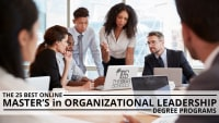 The 25 Best Online Master's in Organizational Leadership Degree Programs