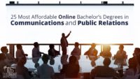 The 25 Most Affordable Online Bachelor's Degrees in Communications and Public Relations