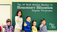 The 30 Best Online Master's in Elementary Education Degree Programs