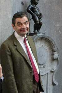 Rowan Atkinson as Mr. Bean, image by Antonio Zugaldia