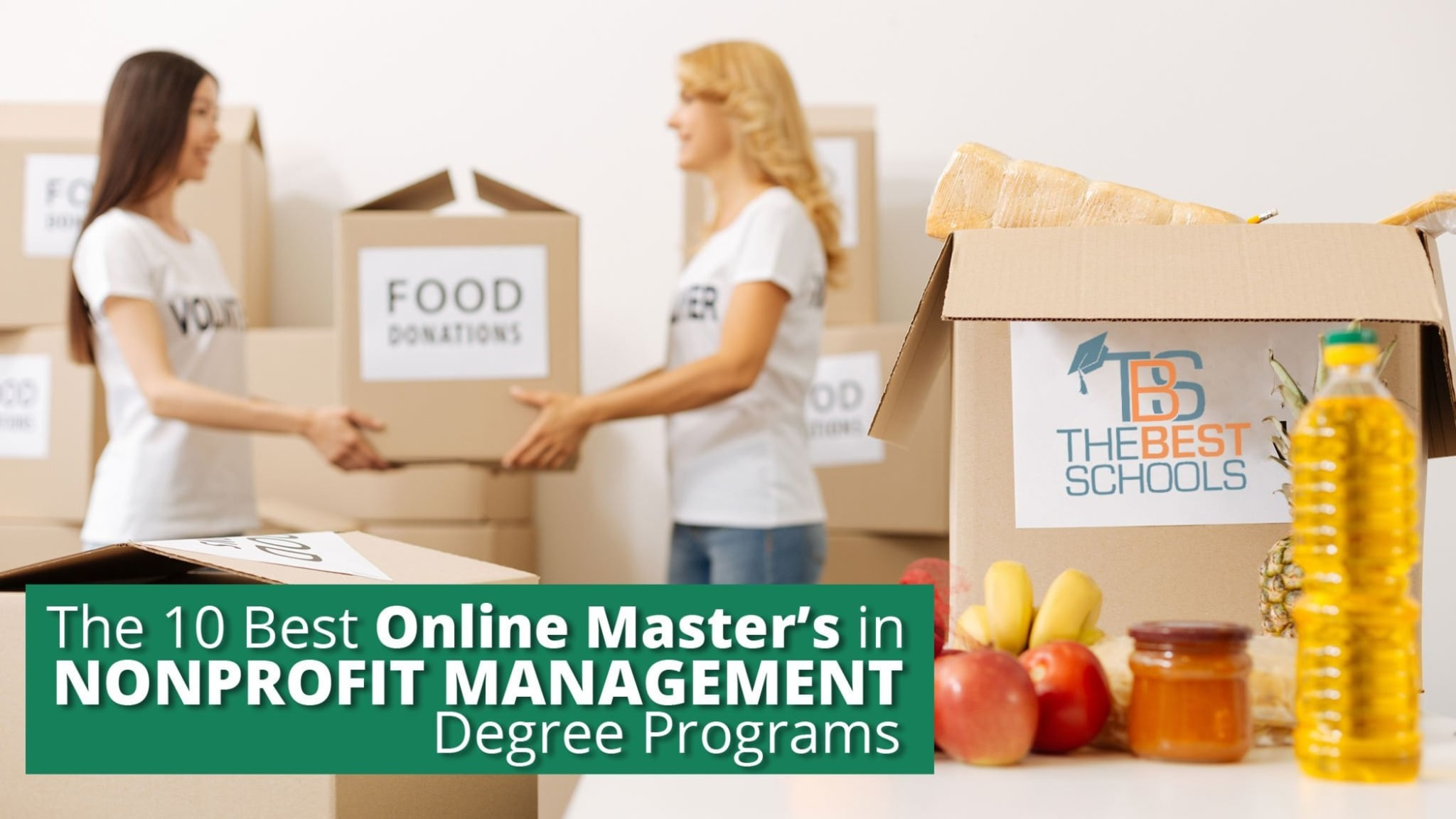 The 10 Best Online Masters In Nonprofit Management Degree Programs