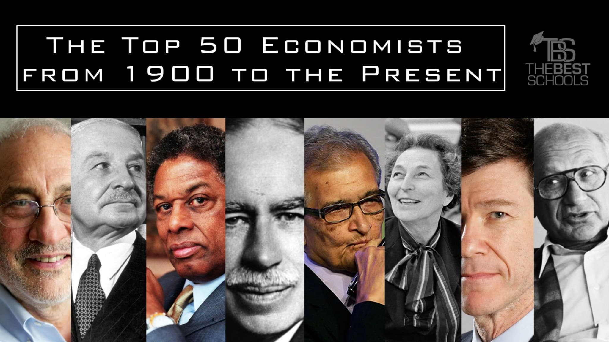 Free Market For Education Economists >> The Top 50 Economists From 1900 To The Present