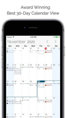 iPhone screen grab for Informant, via iTunes