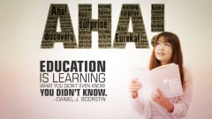 "Image #10: ""Education is learning what you didn't even know you didn't know.""Daniel J. Boorstin Quote"