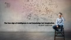 "Image #13: ""The true sign of intelligence is not knowledge but imagination.""Albert Einstein Quote"