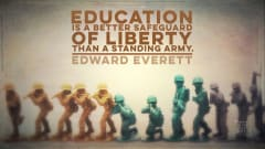 "Image #3: ""Education is a better safeguard of liberty than a standing army.""Edward Everett Quote"