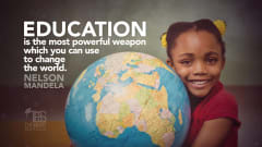 "Image #43: ""Education is the most powerful weapon which you can use to change the world.""Nelson Mandela Quote"