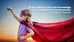 "Image #33: ""Every addition to true knowledge is an addition to human power.""—Horace MannHorace Mann Quote"