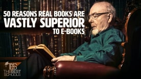 50 Reasons Real Books are Vastly Superior to Ebooks