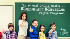 The 30 Best Online Master's in Elementary Education Degree Programs
