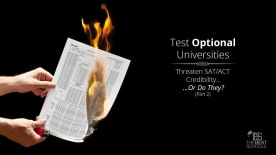 Test-Optional Universities Threaten SAT/ACT Credibility…Or Do They?: Part II