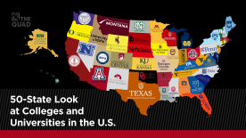 A 50-State Look at Colleges & Universities in the U.S.