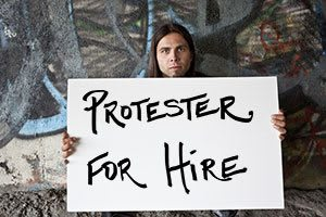 protestor-for-hire