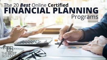 The 20 Best Online Certified Financial Planning CFP Programs