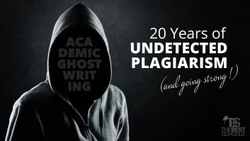 Academic Ghostwriting: 20 Years of Undetected Plagiarism (and going strong!)