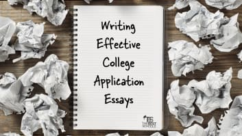 college application letter examples