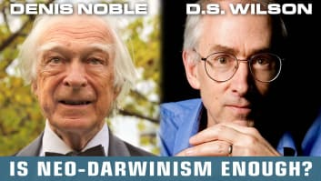 Denis Noble & David Sloan Wilson: Focused Civil Dialogue on Evolution