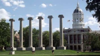 Mizzou, University of Missouri, Columbia, Missouri