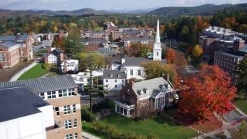 Dartmouth College, Hanover, New Hampshire.