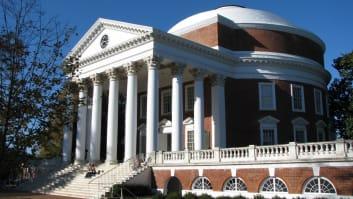 Image of University of Virginia Main Campus, The Rotunda, Charlottesville, Virginia