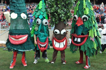 The Most Ludicrous Mascots in College Sports | The Quad Magazine