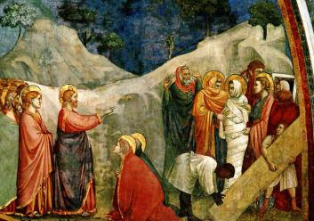 Giotto The Resurrection of Lazarus