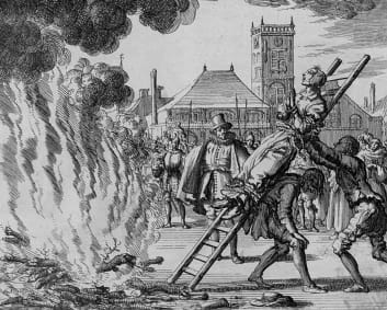 Burning With at the Stake