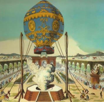 Montgolfier Hot Air Balloon