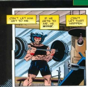 Wolverine Comic Book Panel