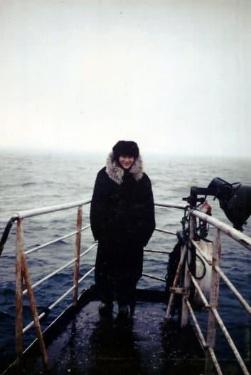 ad787e64e8f Barbara Oakley on Russian Trawler