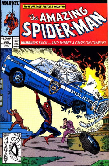 The Amazing Spider-Man Comic Cover