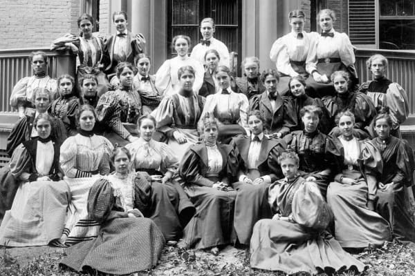 Radcliffe College's class of 1896