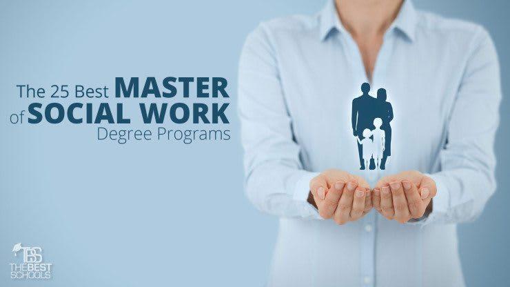 Msw Programs The 25 Best Master Of Social Work Programs
