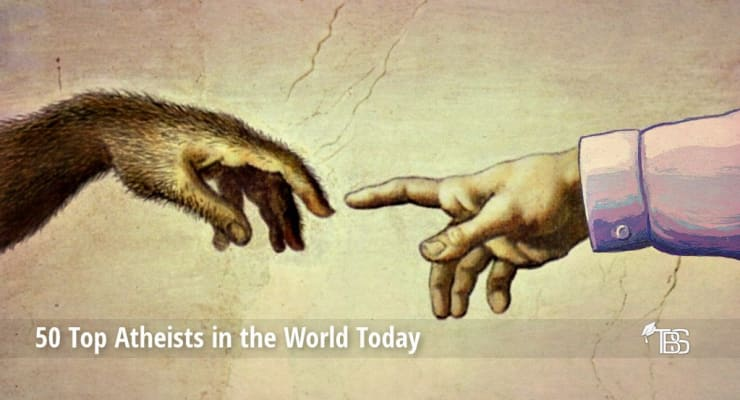 50 Top Atheists in the World Today | TheBestSchools org
