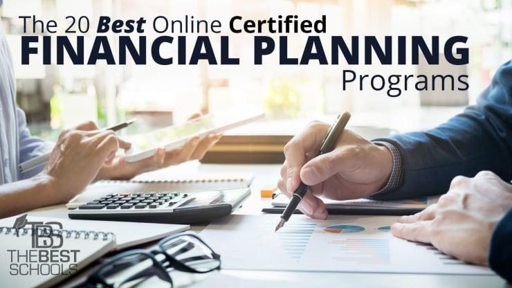 The 20 Best Online Certified Financial Planning (CFP) Programs