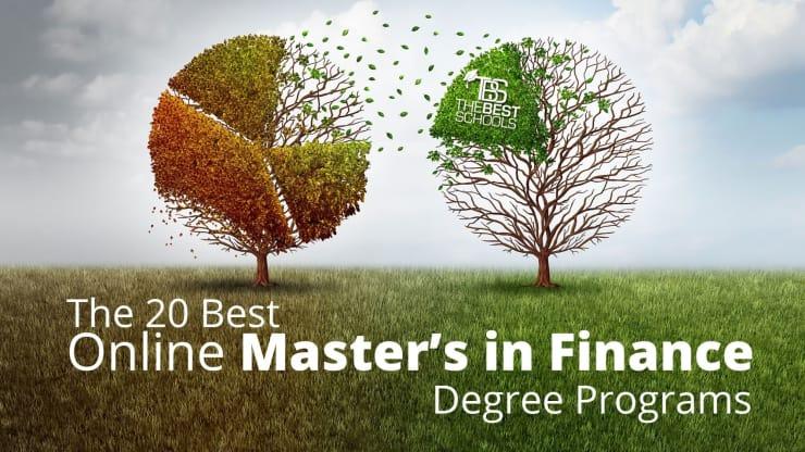 The 20 Best Online Master S In Finance Degree Programs